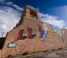 Taos mural