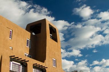 La Fonda's rooftop terrace