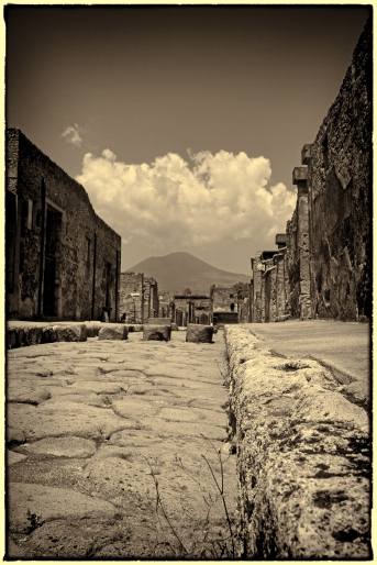 In the shadow of Vesuvius, Pompeii